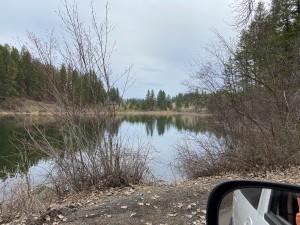 Rocky Lake view - DNR lands