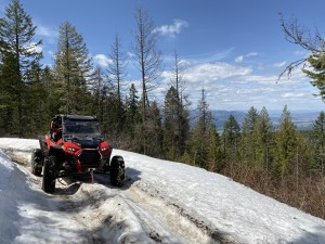 Iron Mountain in the spring