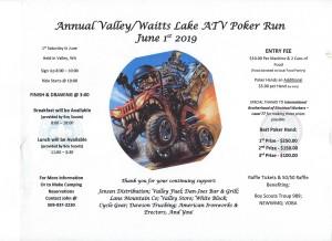 Valley Poker Ride 6-1-2019