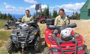 USFS Recreation Rangers work with TCMRA's OHV Ambassador Program