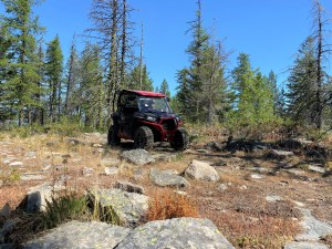 Keith Fine and his RZR 900 XC , the ultimate trail machine!