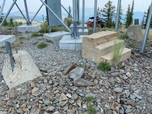 Old Bodie Fire Lookout site